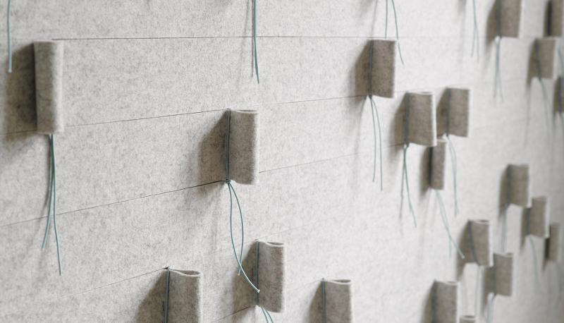 wallpanel Loop - Wool Amsterdam