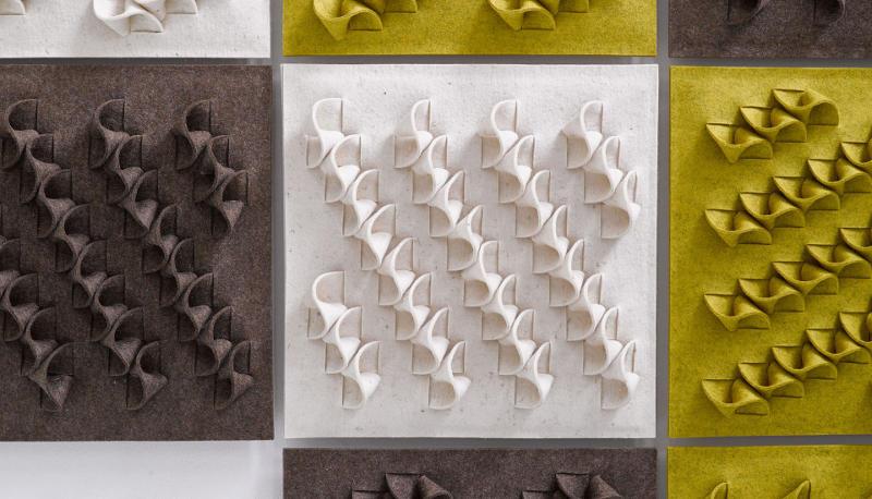wallpanel Twist - Wool Amsterdam